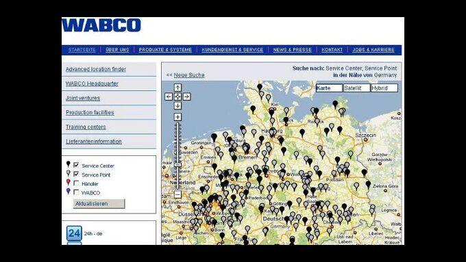 Wabco startet 24h-Hotline