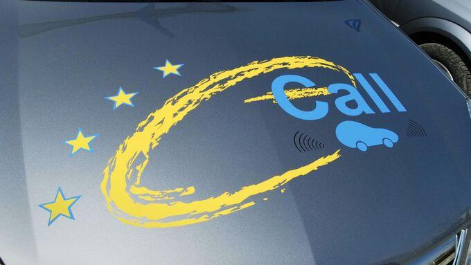 eCall, EU-Kommission, Notruf, Europa