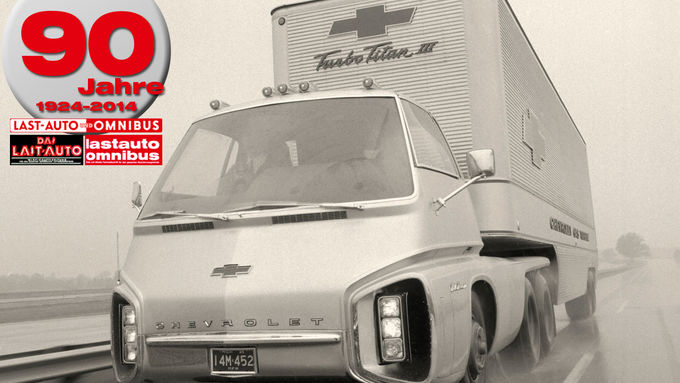 90 Jahre lastauto omnibus, Gasturbine