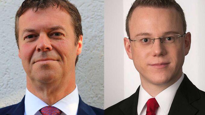 Albert Bastius (li.) und Dominik Fürste