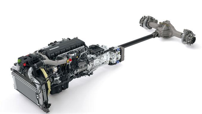 Antriebsstrand MX1 New Paccar