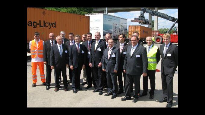 BSH eröffnet Container-Terminal