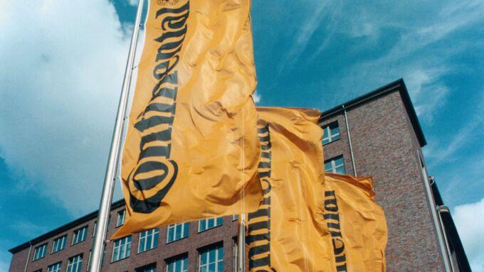 Continental Konzern Fahne