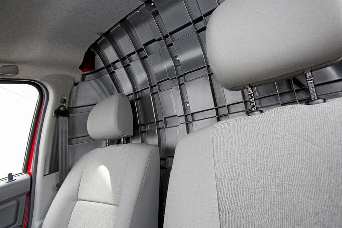 Dacia Logan Express, offene Kabine, Laderaum
