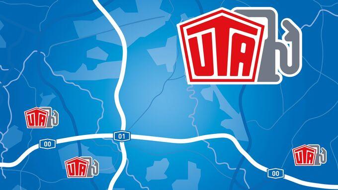 Die Akzeptanzstellen der Tankkarte von UTA sind nun in der Kalkulations- und Trackinglösung TC eMap von Timocom eingebunden.