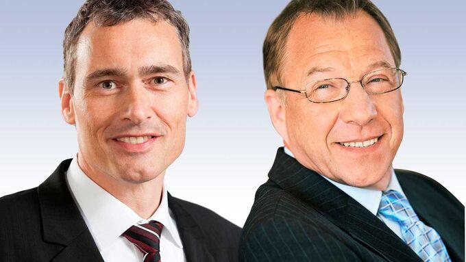 Dr. Lothar Thoma, Klaus Jäger, MM Militzer und Münch