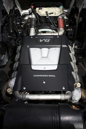 Einzylinderköpfe, MAN-V8