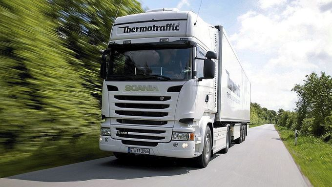 Euro 6-Lkw des Kühllogistikers Thermotraffic