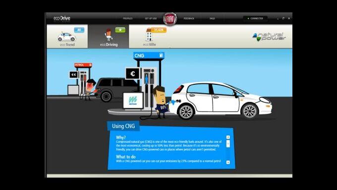 Fiat offeriert Erdgas-Modelle mit Spritspar-Programm