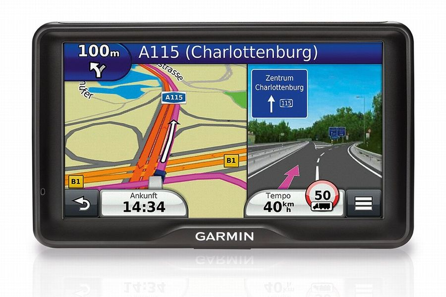 garmin lkw navi mit 7 zoll display eurotransport