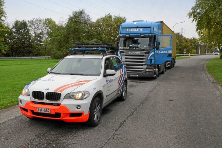 lkw kontrollen in belgien auf tour mit dem kabotage j ger eurotransport. Black Bedroom Furniture Sets. Home Design Ideas