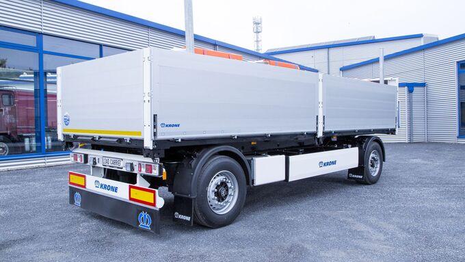 Krone Load Carrier, Baustoffanhänger