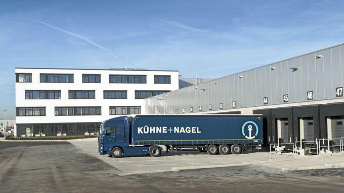 Kühne + Nagel, Lkw, Nürnberg