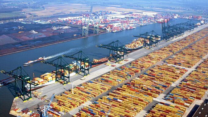 MSC Terminal Hafen Antwerpen