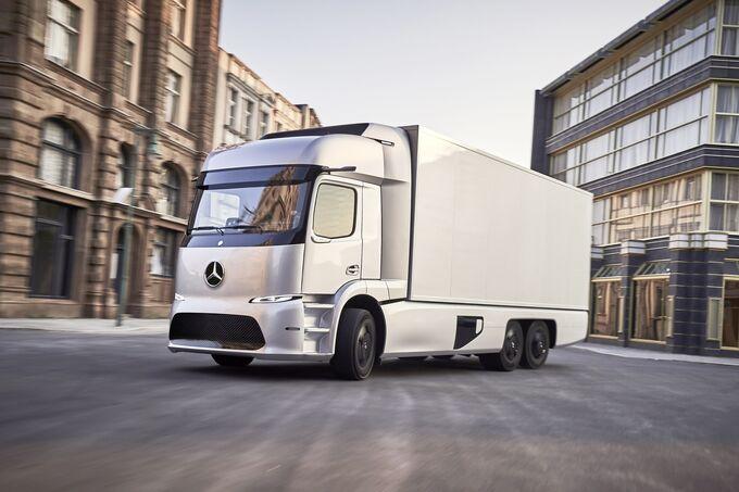 Mercedes-Benz Elektro-Lkw