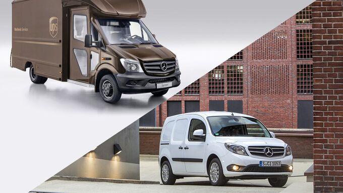 Mercedes-Benz, UPS, Citan