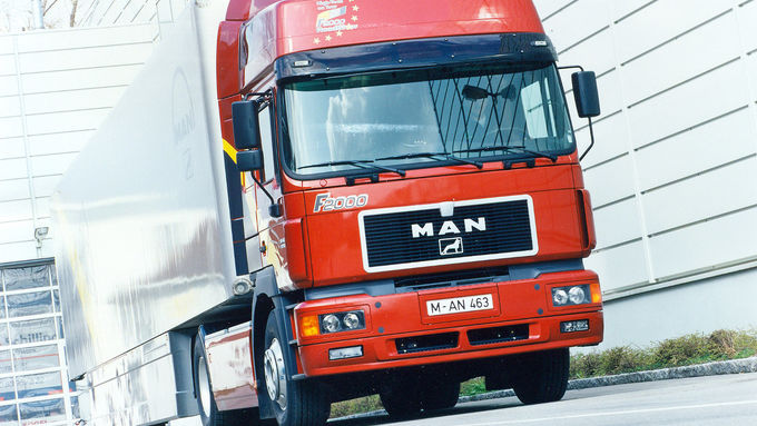 Mit dem F 2000 startet MAN ab 1994 durch.