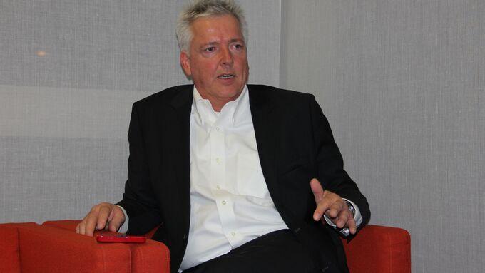 Panalpina, Peter Ulber, CEO und Präsident der Konzernleitung Panalpina Welttransport