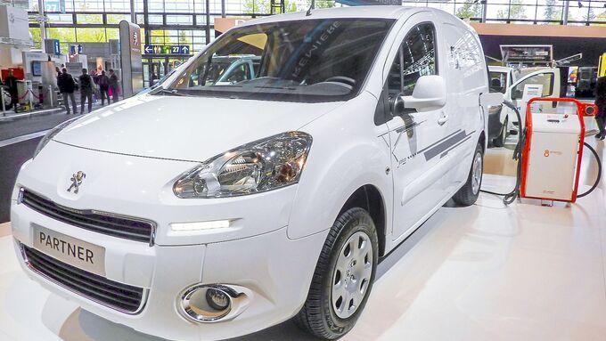 Peugeot Partner Électric, IAA 2012