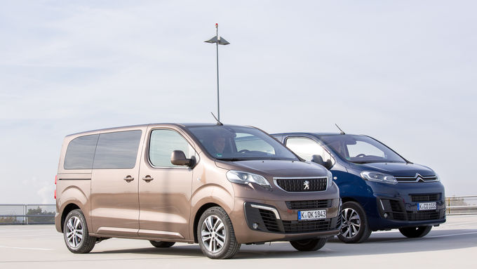 Peugeot Traveller, Citroen Spacetourer