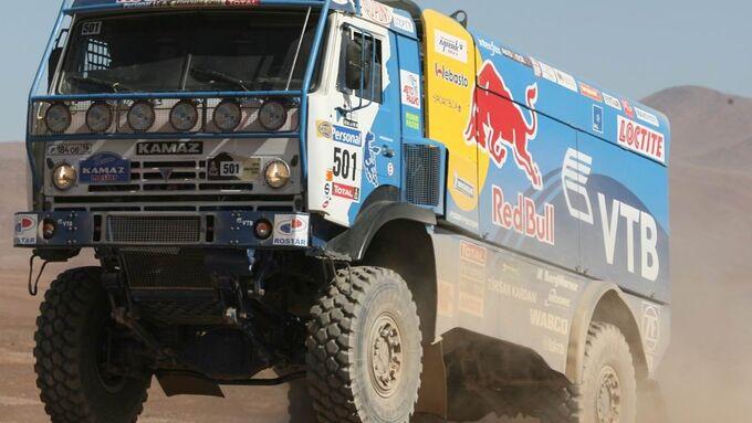 Rallye Dakar: Kamaz vorn