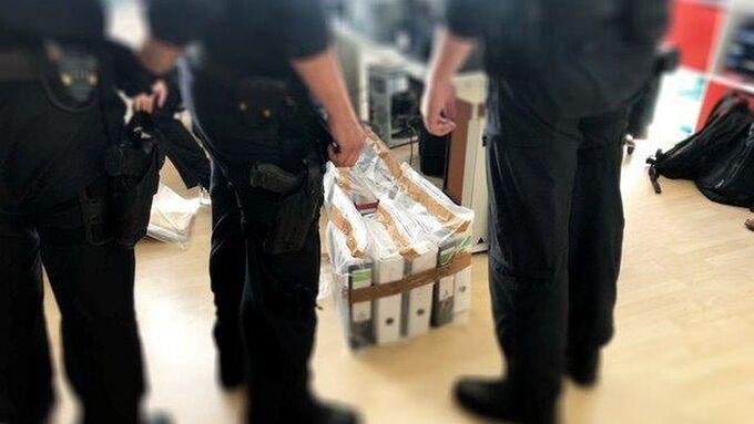 Razzia der Bundespolizei gegen Schleuserbande