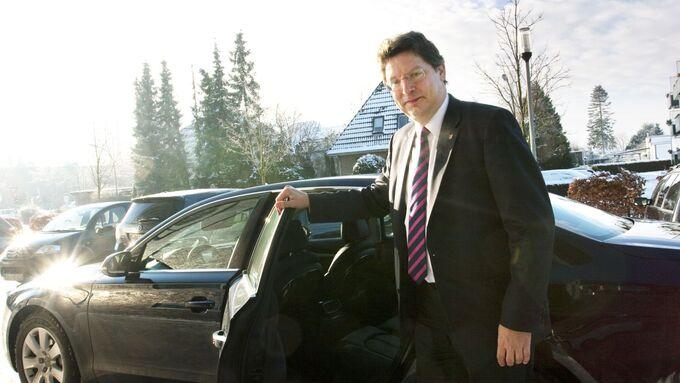 Reinhard Meyer, Vorsitzender der Verkehrsministerkonferenz 2013