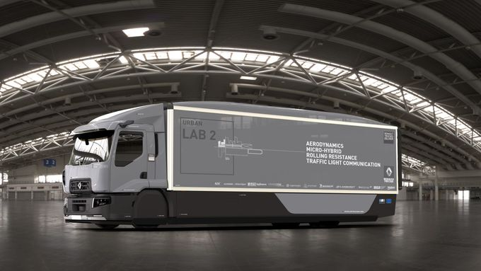 Renault, Trucks, Future Lab 2, Versuchsfahrzeug