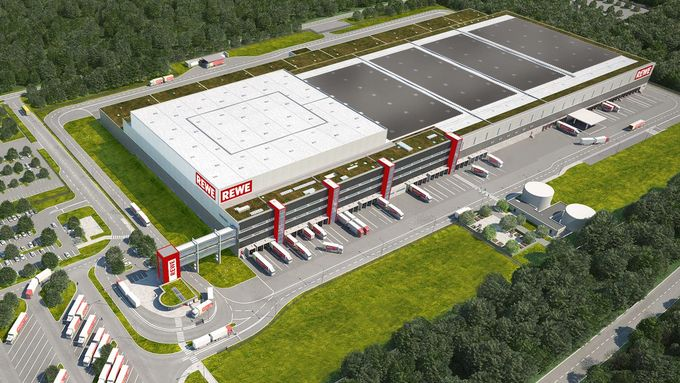 Rewe, Logistikzentrum Neu-Isenburg