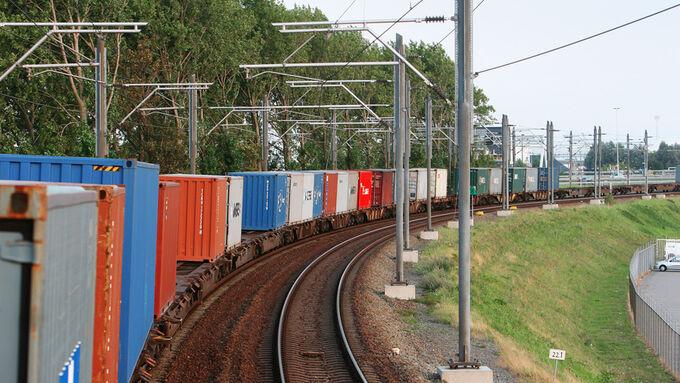 Schiene, Logistikunternehmen