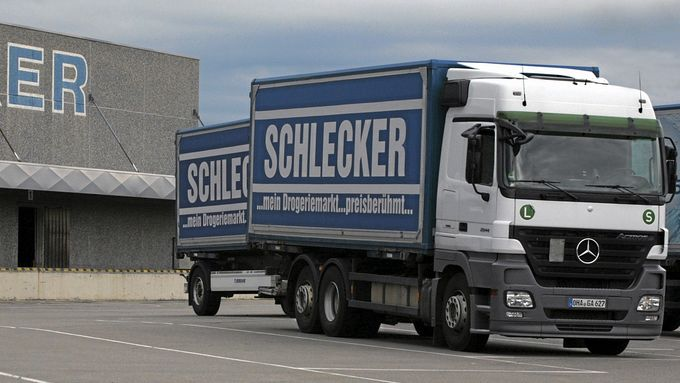 Schlecker Lkw