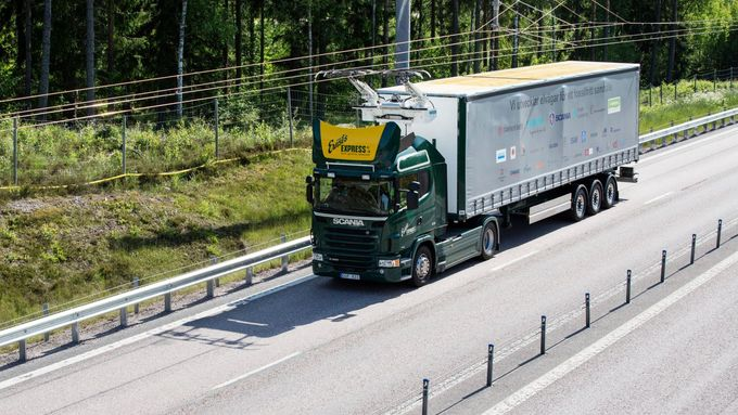 Start des weltweit ersten eHighways in Schweden / World's first eHighway opens in Sweden