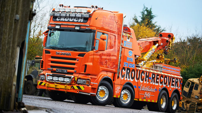 Supertruck FERNFAHRER 09-2011 Scania R 620 Crouch Recovery