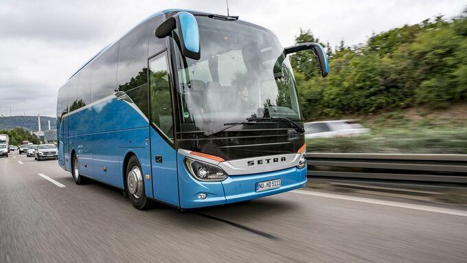 Test Setra S 511 HD Bus Reisebus Midibus