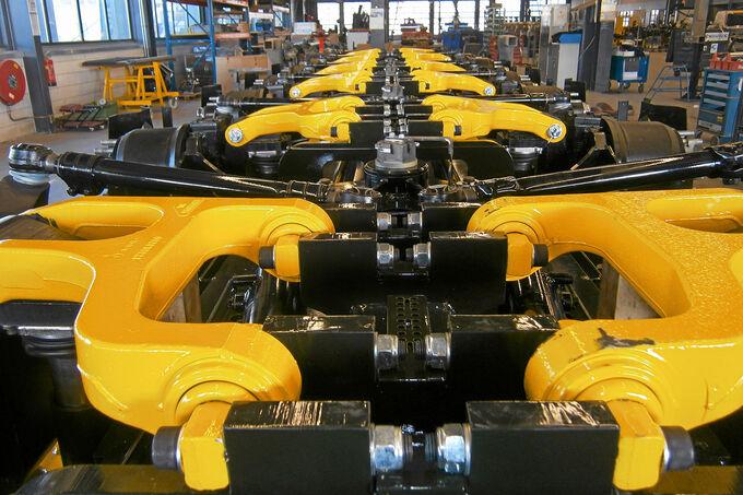 Trends im Schwerlast-Fahrzeugbau – Broshuis SL-Baureihe, Ober- und Unterlenker