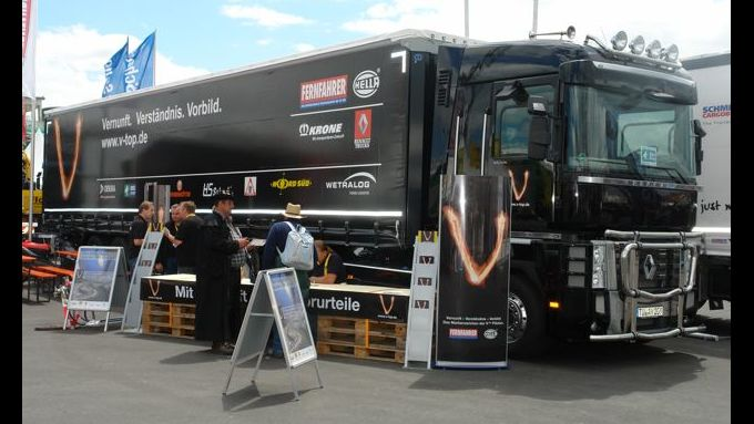 Truck-Grand-Prix, Truck Race, Lkw, Nürburgring, V-Top