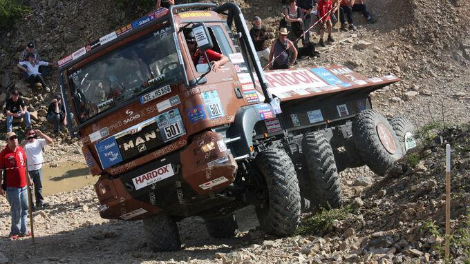 Truck Trial in Montalieu