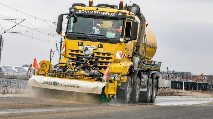 Truckjobs Leonhard Weiss Mercedes-Benz Arocs 4142