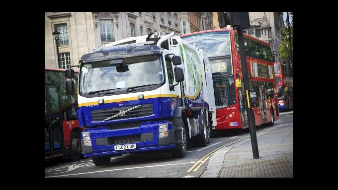 Volo testet Hybrid-Lkw in London