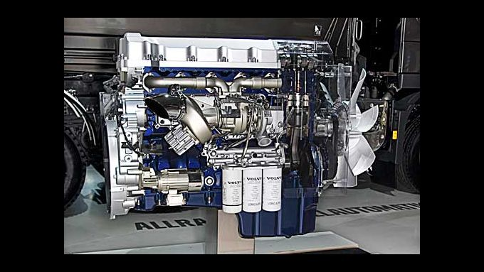 Volvo bietet einen EEV-Motor ohne Partikelfilter im Lkw-Modell Volvo FH an.