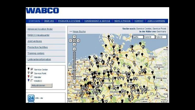 Wabco erweitert Service-Hotline