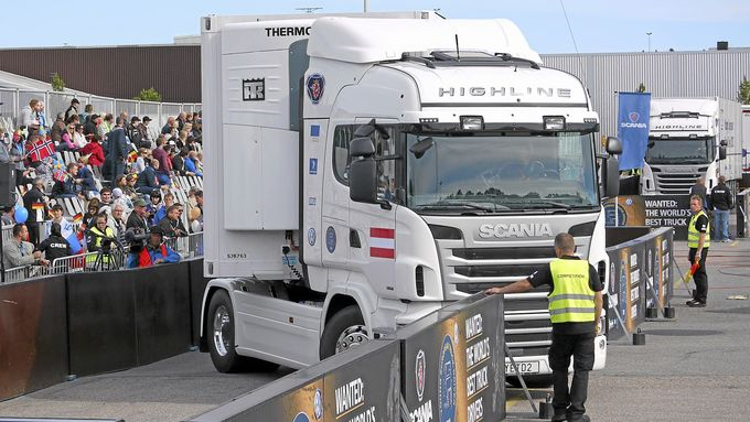 Young European Truck Driver 2012