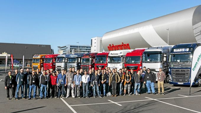Young professionals truck award