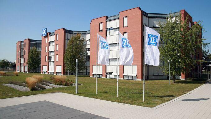 ZF Friedrichshafen, Zentrale